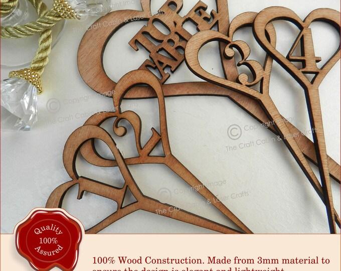 Wedding Top Table, Wooden Heart Design, Vintage Rustic Weddings
