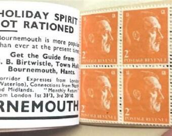 Len Deighton - SS GB - Cinderella Stamp Booklet
