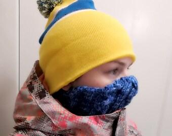 Handknit Snow Mask