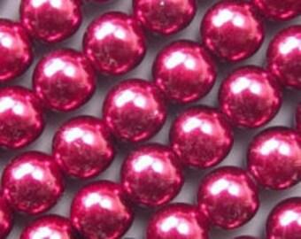 8mm Round Preciosa Pearl
