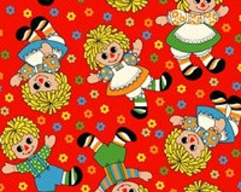 Blue Hill Fabric Holly's Dolls  8007 - 002