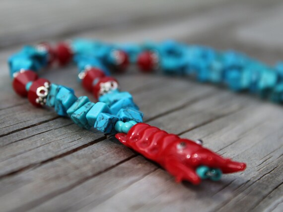 Lobster Necklace, Ocean Sea Life Jewelry, Beach Necklace Jewelry, Lobster Gift Idea