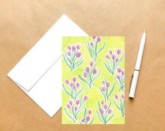 Tulips | Springtime Greeting Card