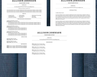 Classic Resume Template   CV Template   Professional Resume   Modern Resume   Resume Only
