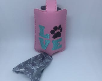 Dog Poop Bag holder