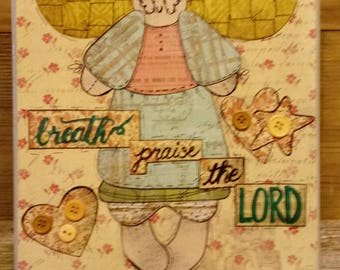 Let Everything That Has Breath Praise the Lord Canvas