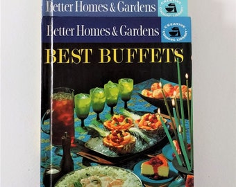 Vintage 1963 Better Homes & Gardens set of 4 Cookbooks: Best Buffets, Barbecues and Picnics, Snacks and Refreshments, Lunches and Brunches""