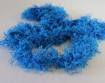 Turquoise Twisted Fringe - Decorative Trim 975