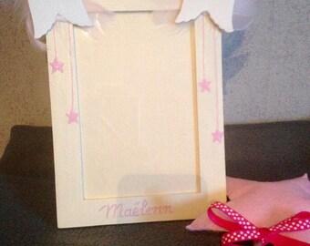 "Frame for baby ""Little angel"" customizable"