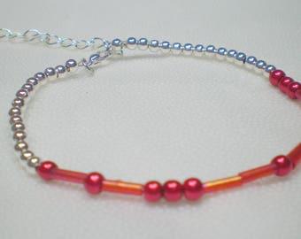 ALWAYS, morse code bracelet, secret message, valentines day, romantic gift for her, secret hidden message, memorial, morse code jewelry