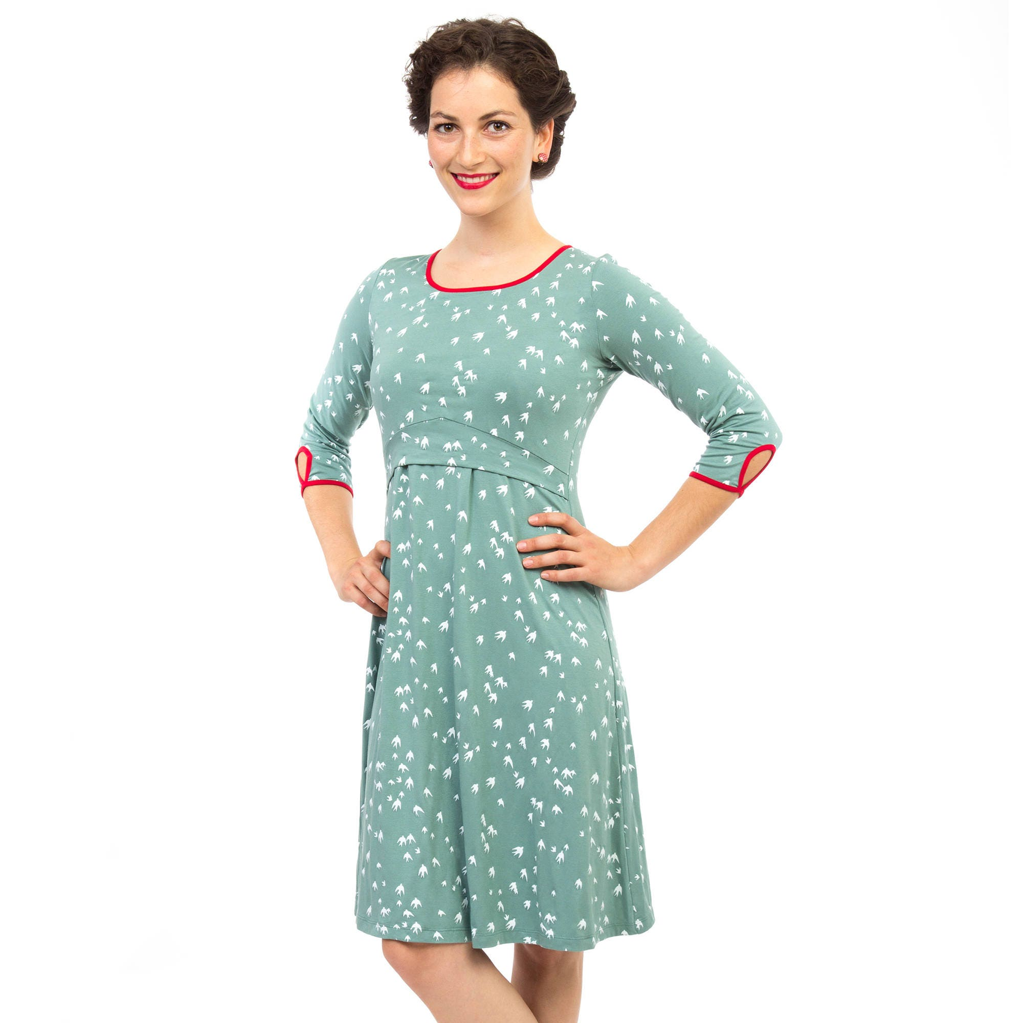 Maternity dress pregnant nursing mums special occasions