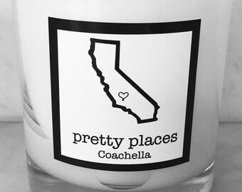 Coachella candle