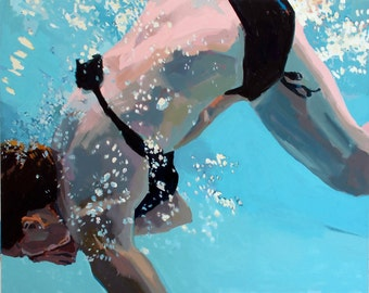 """Somersault: 16x20"""" Archival giclee signed print"""