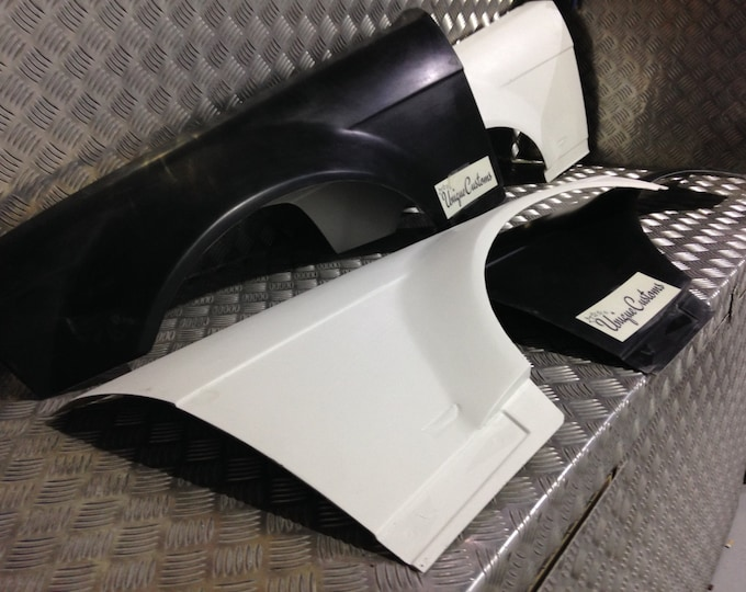 E36 saloon compact front overfenders 30mm wider arches drift track touring