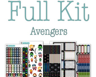 Avengers Planner Collection - Disney Planner Stickers