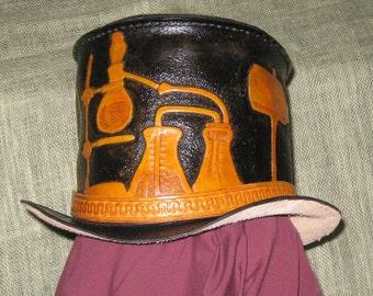 Leather Alchemists Top Hat