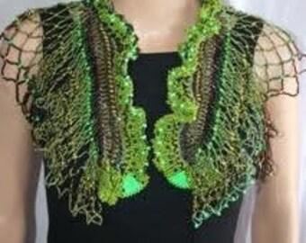 Peridot and Neon Green Peyote