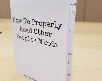 How To Properly Read Other Peoples Minds Zine