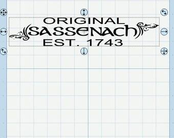 Original Sassenach SVG