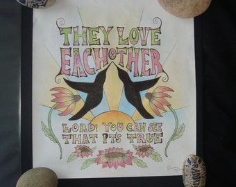 Grateful Dead Song Lyric Art Print & Etsy :: Your place to buy and sell all things handmade