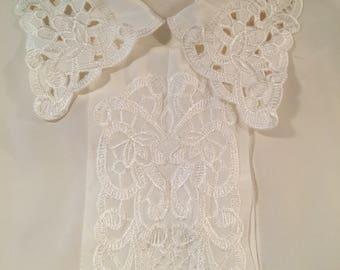 Beautiful white blouse