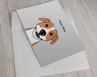 Thanks, Dawg Greeting Card - Thank you Card - Dog thank you card - dog lover card - funny dog card - cute dog notecard - funny thank you