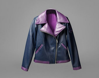 Sombra inspired handmade cosplay jacket from Overwatch