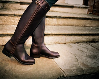 Handmade Boots for women - can be personalised.