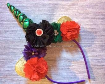 Mermaid Unicorn headband, girls mermaid headband, toddler headband, girls tutu, toddler headband, halloween costume, unicorn accessories