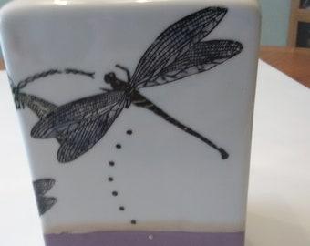 Dragon Fly Vase
