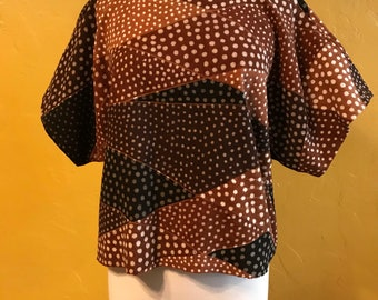 Mudcloth top, Ethnic clothing, Mudcloth Clothing, Tunic