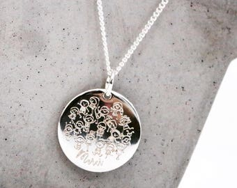 Necklace / necklace 925 sterling silver * custom Creation * with engraving
