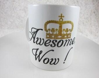 Hamilton Mug, Hamilton Musical Mug,My Shot, Awesome Wow, Hamilton Musical, Alexander Hamilton,Revolution, Song Lyrics, Cute Gift Box