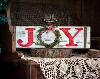 Christmas decorations,  Christmas decor, joy sign, joy wreath sign, joy wreath, holiday decor, holiday wreath, holiday sign, wreath sign