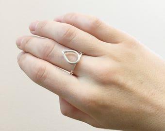 Petal Top Ring