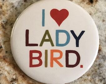 I Love Lady Bird Pin