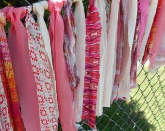 Garland Party Celebrate Indoor Outdoor Pinks Prints