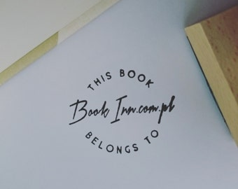 Exlibris - Personalised Book Stamp