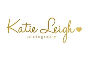 Pre-made Logo Design and Photography Watermark - Logo Template - Typography Logo - Photography Logo - Instagram Logo - Gold Logo 659