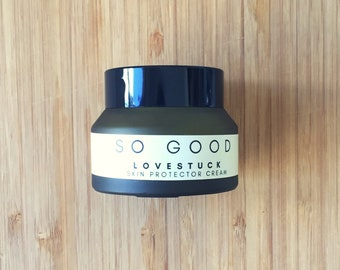 Dry Skin Cream : LOVESTUCK (Calendula Extract + Organic Cocoa butter + Shea Butter + Green Tea Extract) Luxurious + Eco Beauty
