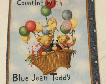Counting with Blue Jean Teddy and Friends Cloth Book