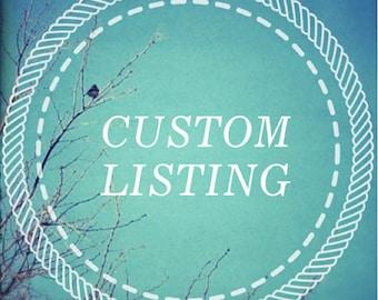 Custom listing for marie niven himes