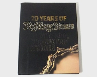 1980s journalism book / 80s rock book / rolling stone / 20 Years of Rolling Stone Book