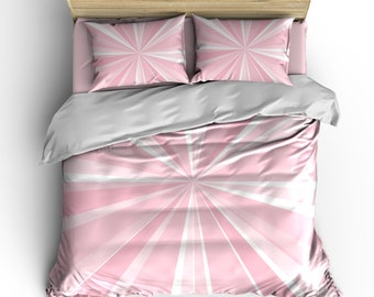 Sunray Sweetness Custom Bedding - Queen  and King size - Your Choice of Colors