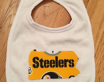 Pittsburgh Steelers State (Name) Bib