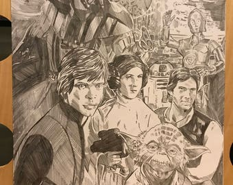 Star Wars Pencil Sketch