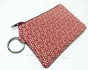 Red padded woman wallet, credit card holder id20170206 travel organizer, cute coin purse, portemonnaie, gift ideas, portefeuille