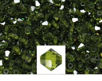 Olivine Swarovski Bicone (3mm) Beads 72/144/432/1000 Pieces jewelry making