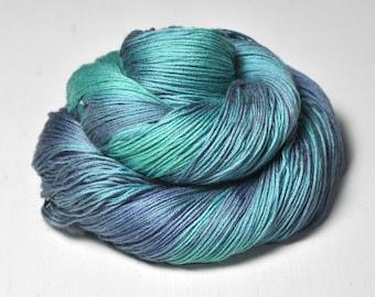 Neptune's empire - Silk / Cashmere Lace Yarn - Hand Dyed Yarn - handgefärbte Wolle - DyeForYarn