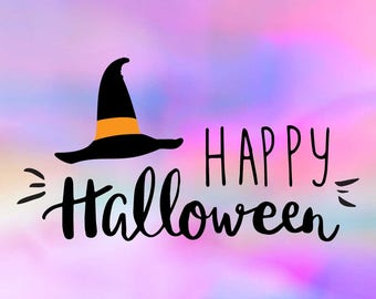 Halloween SVG Quote, Svg Quotes, Svg Sayings, Clip Art, Svg Png Saying, Happy  Halloween Svg Dxf, Halloween Party, Silhouette Cameo Cricut